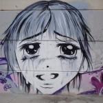 Graffitis en Sant Carles de la Ràpita