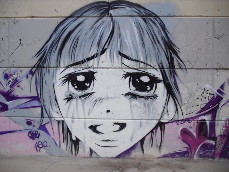 Grafittis Sant Carles de la Rapita