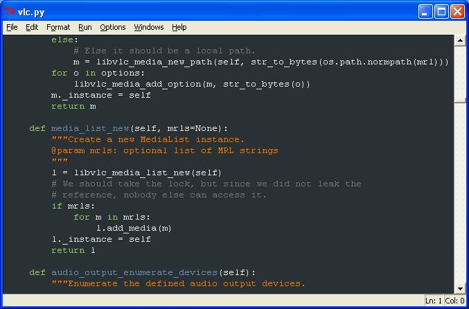temas para el IDLE de Python