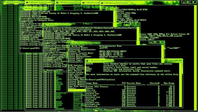 módulo de análisis de línea de comandos