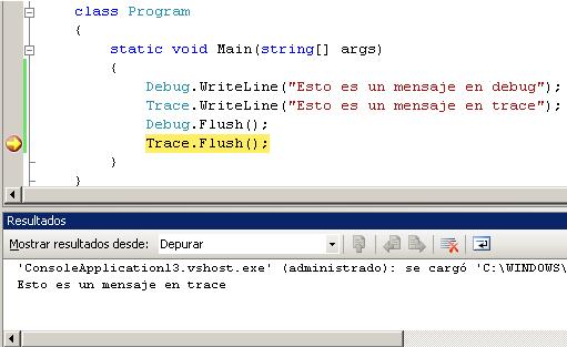 escribir facilmente un fichero Log en .NET Framework