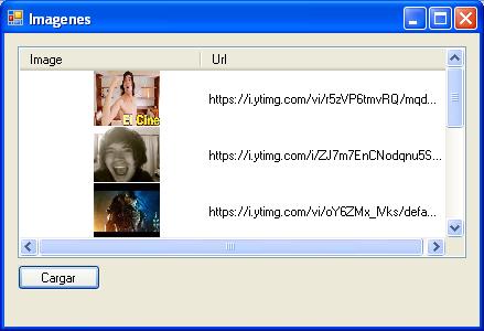 descargar una imagen de una página y mostrarla en un Winform