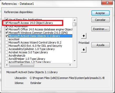 mostrar un cuadro de dialogo para abrir un archivo en Microsoft Access
