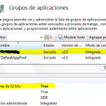 Cómo habilitar aplicaciones de 32 bits en IIS7