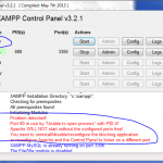 XAMPP: Error «Port 80 in use by «Unable to open process» with PID 4!»