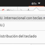Configurar acentos con teclado en Inglés en Ubuntu 20.02